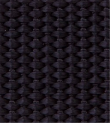 Black Heavyweight Woven Polypropylene Webbing