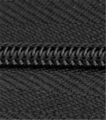Black Polyester Zipper Chain