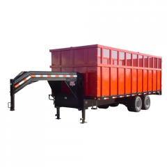 Disaster Relief Dump Trailer