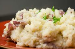 Baby Reds Mashed Potatoes