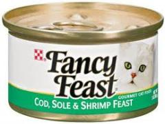 Fancy Feast Cat Food - Gourmet Cod Sole &