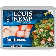 Louis Kemp Crab Delights Imitation Crab Meat