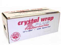 "CrystalWrap Plus 12"" x 3M Cutterbox"