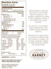 Sliced Almonds 16 oz (1 LB)