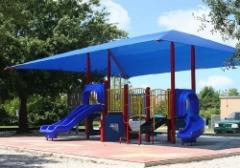 PlayTowers: Integrated Playground Shade