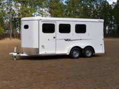 3-Horse Bumper Quest Slant-Load Trailer