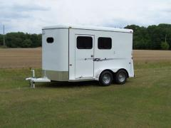 2-Horse Bumper Stinger Trailer