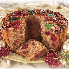 Postpaid Christmas Fruit Cake