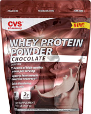 CVS Chocolate Whey Protein Powder