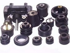 Molds, rubber