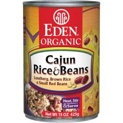 Cajun Rice & Small Red Beans, Organic, BPA
