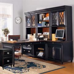 L-Shape Office Wall Unit, Young Classics