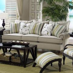 Traditional Stationary Sofa, Paula Deen
