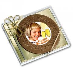 CD rond chocolat