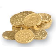 Peterbrooke Gold Coins Large Bag