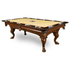 Pool Table Dining Top with Reversible Poker Game