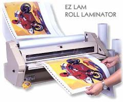 Roll Laminator, EZ LAM