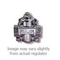 Holley Performance Fuel Pressure Regulator; 1-4 psi; Standard; Chrome Finish;