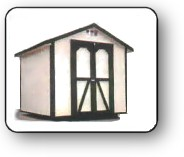 Gable With 6' Sidewalls