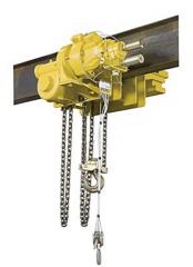 Pneumatic Geared Trolley Hoist SLA
