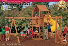 Factory built playsets