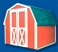 Storage buildings (barn style)