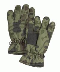 Kids woodland camo thinsulate gloves