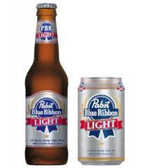 Pabst Blue Ribbon Light Beer