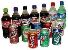 Soft Drinks: Soda, Iced Tea, Bottled Water, etc.