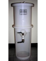 Conical Fermenter, 8 Gallon, Plastic