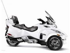 Motorcycle 2012 Can-Am Spyder™ RT Limited