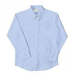 Boys School Uniforms Basic Long Sleeve Oxford