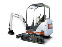 Compact Excavator Bobcat 324