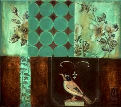 Artwork Roses and Birds