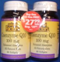 Coenzyme Q10 100 mg 60 Softgels