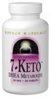 7-Keto 50 mg DHEA Metabolite 30 Tablets