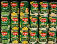Del Monte Foods Canned Fruits and Vegetables
