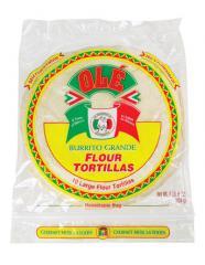 "10"" Burrito Grande Flour Tortilla"