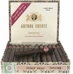 Arturo Fuentes Curly Head Deluxe Maduro Cigars