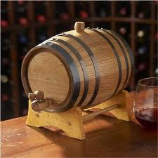 Mini Oak Wine Barrel