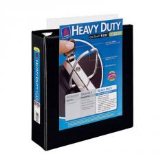 Nonstick Heavy-Duty EZD Reference View Binder,