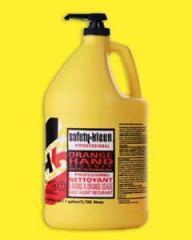 Orange Hand Cleaner w/Scrubbers