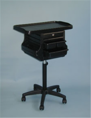 Mobile Cart with Tray Holder