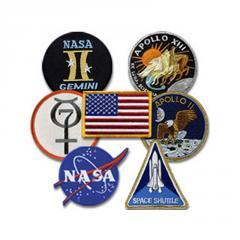 7pc NASA Patch Set
