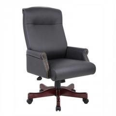 Traditional High Back Chair, Boss