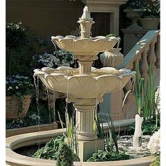 Fountain, Double Lotus