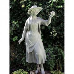 Statue, Arcadian Shepherdess
