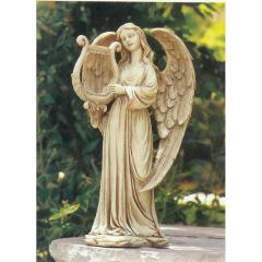 Statue, Angel with Harp