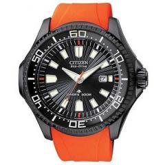 Citizen Promaster Diver Watch Orange