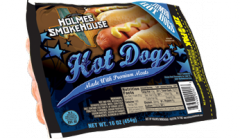 Hot Dogs Made With Premium Meats
